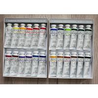 Художественные акриловые краски Shinhan. Набор 24 цвета по 50мл