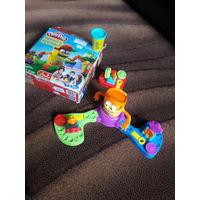 Игра с пластилином Play-doh ПРЯМО В ЦЕЛЬ.