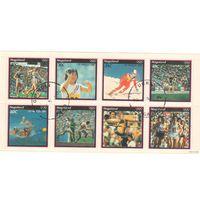 Nagaland (Индия). Олимпиада. Лос-Анжелес 1984.
