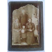 Семейное фото. Дети. До 1917 г. 10х15 см