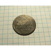 2 гроша 1766