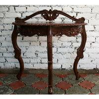 Консольный столик в стиле Барокко, Франция, Бук.