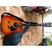 """Гитара Yamaha F310 (вишневый санберст) акустическая, вестерн, правосторонняя, 6 струн, 20 ладов, мензура 25"""", dreadnought, ель/меранти."""