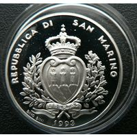 Сан-Марино. 1000 лир 1993 . Серебро. Пруф. 264