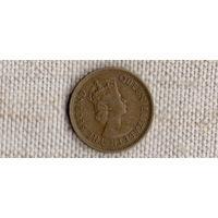 Гонконг 10 центов 1975
