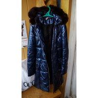 Пальто на синтепоне стеганное