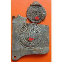 Медаль и пряжка (на реставрацию)