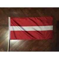 Сцяг Латвіі 25х50 см