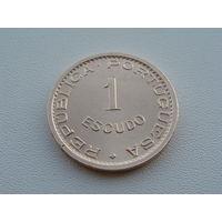 Сан-Томе и Принсипи.  1 эскудо  1971 год  KM#18