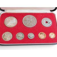 60. Папуа Новая Гвинея комплект монет 1975 год