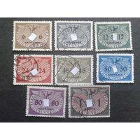 Рейх ГГ 1940 служебные марки