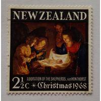 Новая Зеландия. Рождество 1968. Старт с 500 руб.