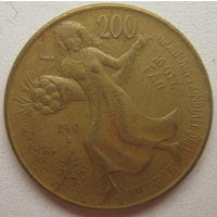 Италия 200 лир 1981 г. ФАО. Всемирный день продовольствия