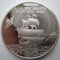 Андорра. 10 динеров (экю) 1994. Серебро. Пруф. 208