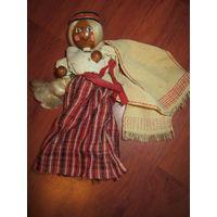 Кукла на палочке театральная . Дерево СССР