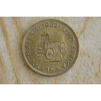 ЮАР 1 цент 1962