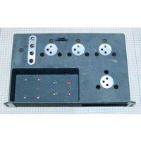 Радиатор для 4-х транзисторов в корпусе КТЮ3-20 (КТ803 - КТ808) и 4-х диодов