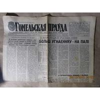 "Газета ""Гомельская прауда"" за 1967 и 1985 год"