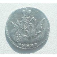 5 копеек 1758 г. Оригинал. Серебро.