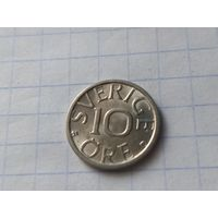 Швеция 10 эре, 1990