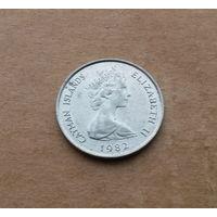Каймановы острова, 10 центов 1982 г.