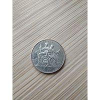Швейцария. Стрелковый талер. 5 франков 1883. Лугано. Редкость.