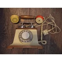 Телефон винтажный рабочий