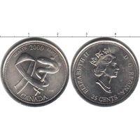 Канада 25 центов 2000  Здоровье UNC