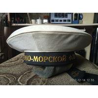 Белый летний чехол на бескозырку (фуражку) ВМФ СССР