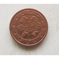 2 евроцента 2010 Германия D