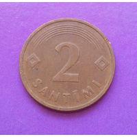 2 сантима 1992 Латвия #04