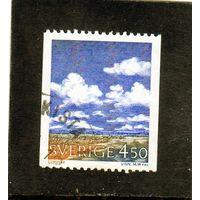 Швеция.Ми-1633. Метеорология. Кучевые облака.1990.