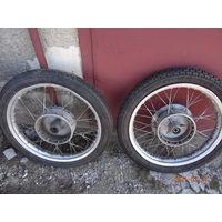 Колесо от мотоцикла МЦ Германия