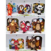 Продам серию игрушек из киндера Маша и медведь 4