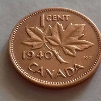 1 цент, Канада 1940 г.