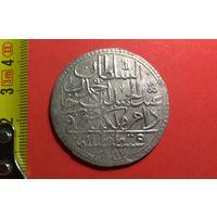 2 золота (60 пара) 1775 (AH1187) 1-й год правления. Константинопольский МД. Турция. Османская империя.  Абдул Хамид I. Редкая + отличная большая монета 43мм!!!