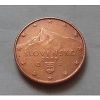 1 евроцент, Словакия 2009 г.