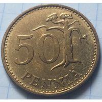 Финляндия 50 пенни, 1968         ( 6-8-3 )