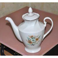 Керамический Чайник, заварник, кофейник. Высота 24 см.