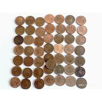 Монеты Тайланд с рубля.