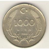 1000 лир 1990 г.