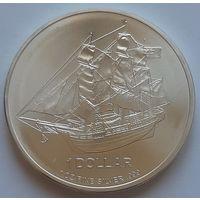 О-ва Кука 2009 серебро (1 oz)