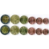 Азербайджан   6 монет  UNC   (новинка)