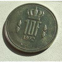 Люксембург 10 франков, 1972 4-16-1