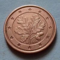 2 евроцента, Германия 2016 A, UNC