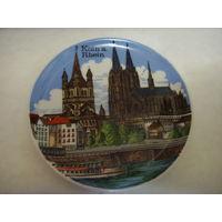 Декоративная фарфоровая тарелка KLEIBER Германия. Бавария