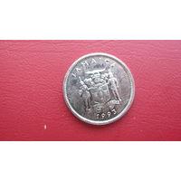 Ямайка 5 центов 1993