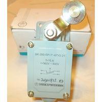 Выключатели концевые серии ВК-200-БР-11-67У2-21, для применения в электрич.цепях управления