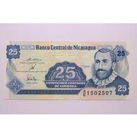 Никарагуа, 25 центавос 1991 год,  UNC
