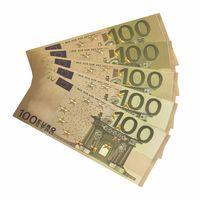 Золотая банкнота 100 евро. распродажа